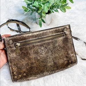Patricia Nash Turati Small Metallic Crossbody Bag